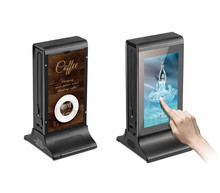 Wireless Android 7 Inch Touch Display Advertising Indoor Table Stand 1080P Digital LCD Screen