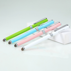 2 in 1 Promotional Metal Touch Stylus Ball Pen