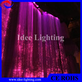 no electricity LED fiber optic safety light curtain home hotel restaurant decoration