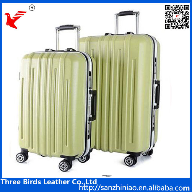 Online shopping men women hardshell luggage case custom spinner suitcase trolley PC luggage
