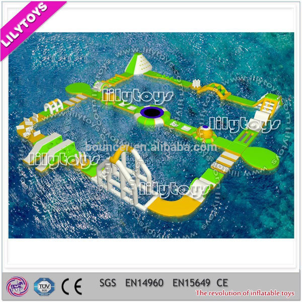 Giant floating good quality inflatable water park,Floating Inflatable Water Park for Lake or Sea