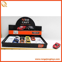 Hot selling Pull back diecast car metal toy car model with low price PB80205003-1