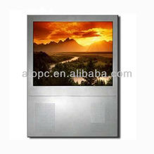 19 Inch Digital Signage Network Building Advertising El Panel