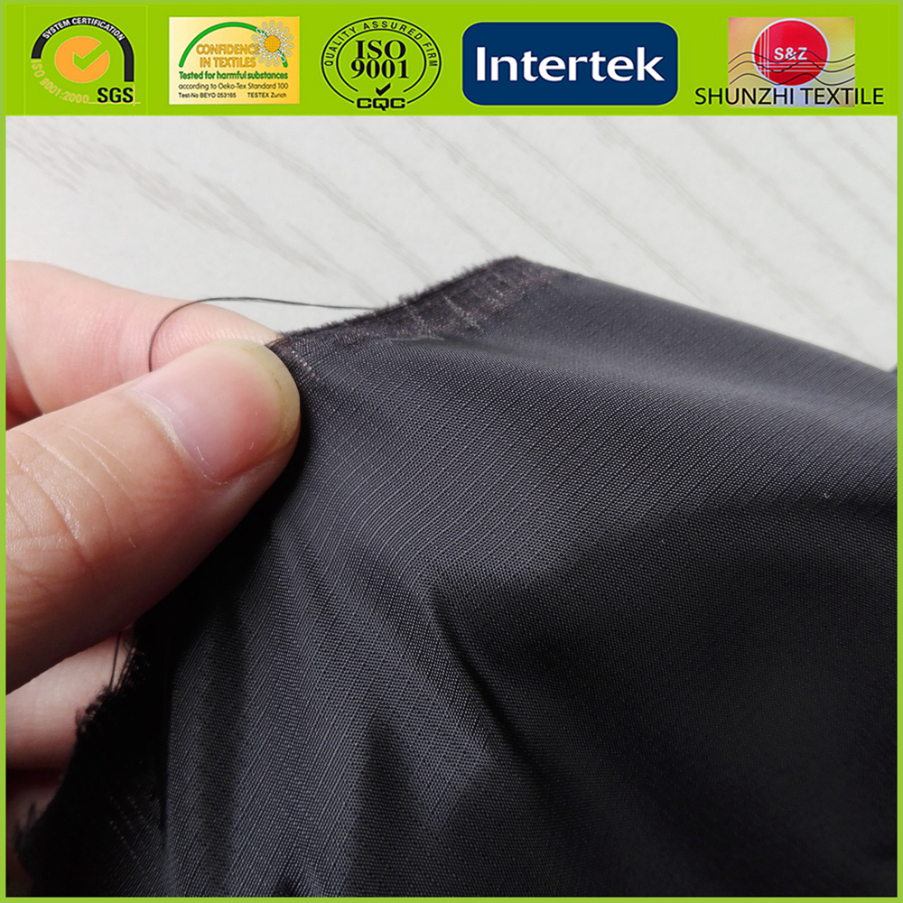 new stocklot 1.5 grid polyester taffeta fabric for umbrella and outcoat thin waterproof taffeta