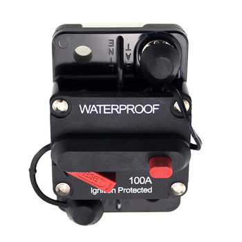 100 Amp Circuit Breaker Marine Rated Power with Manual Reset Waterproof