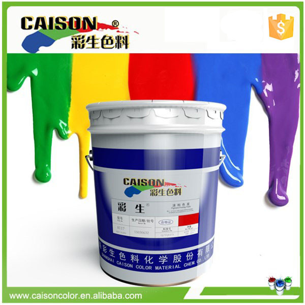 Raw material supply liquid pigment dispersion for water-based ink coloring