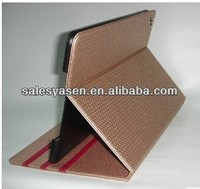 Hot selling new style of stand leather for ipad air leather case