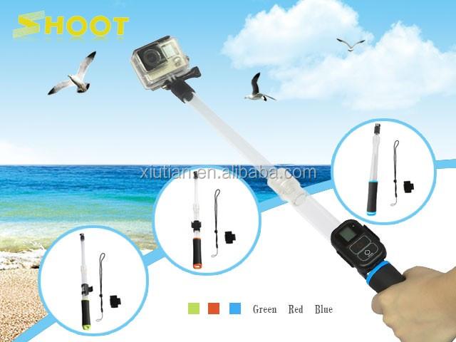 For Gopro Transparent Floating Extension Pole Float Floaty Handheld ...