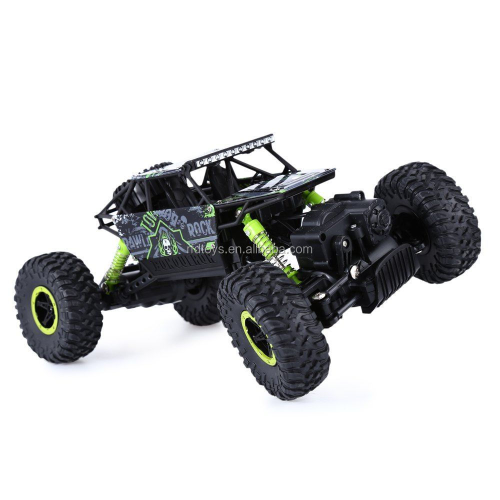 2.4Ghz Radio Control RC Rock Crawler 4WD Monster Car Truck Off-Road Vehicle Toy