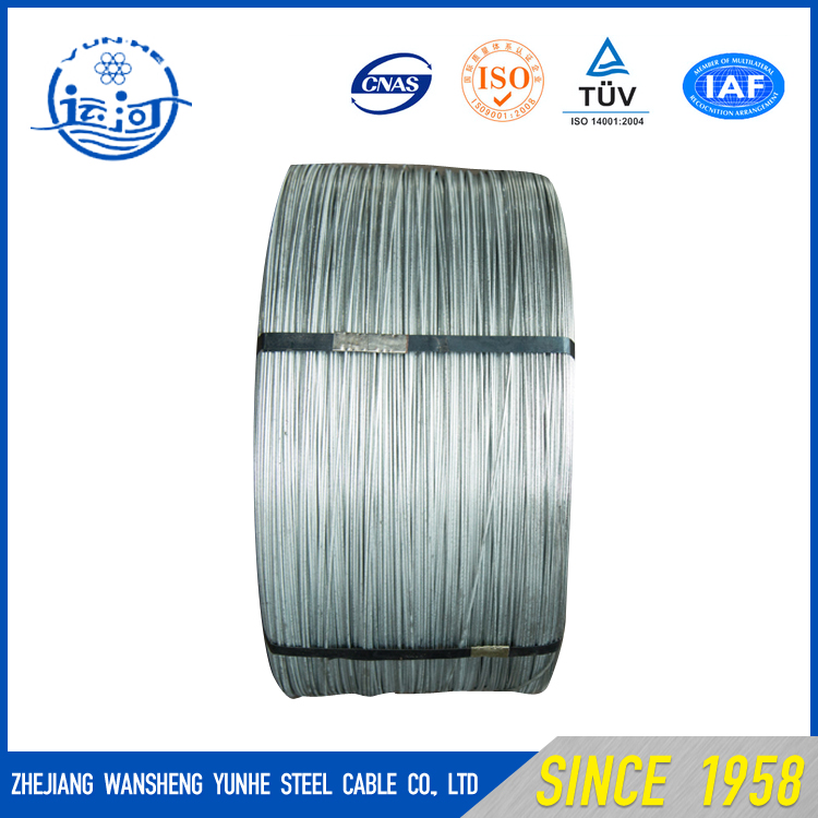 Hot Dipped Galvanized Steel Wire Galvanized Steel Wire Rope Electric Cable