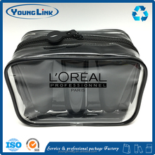 Plastic personalized transparent clear pvc cosmetic bag