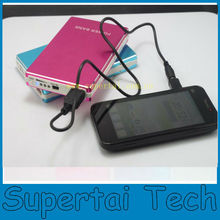 2014 new products design mobile power bank 10000mah for iphone for ipad for samsung i9300