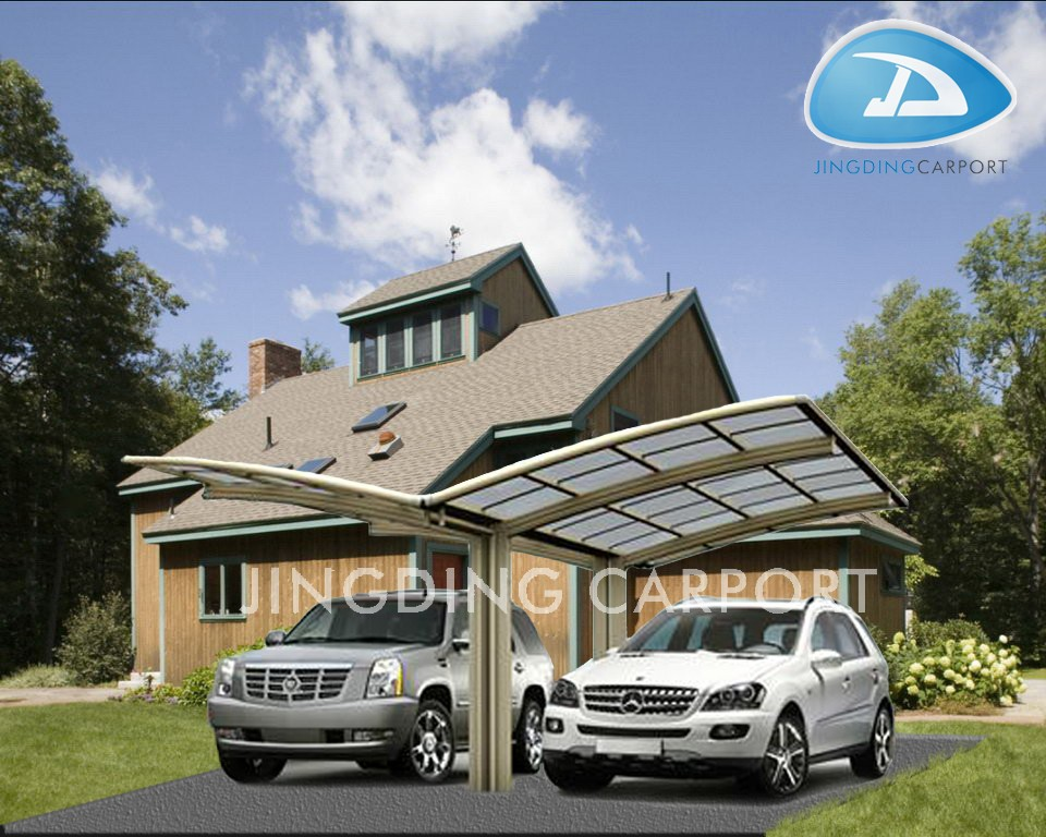 Aluminum Metal Type and Carports Garages Type metal frame outdoor canopy