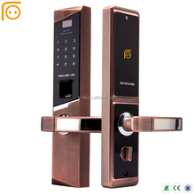 Electric Fingerprint Keypad Smart Home Hotel Door Lock