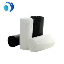 Plastic cheap wholesale thick HDPE LDPE star bottom trash bag garbage bin dustbin liner bag