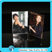 Best acrylic gift photo frame for friend and lover acrylic picture photo frame