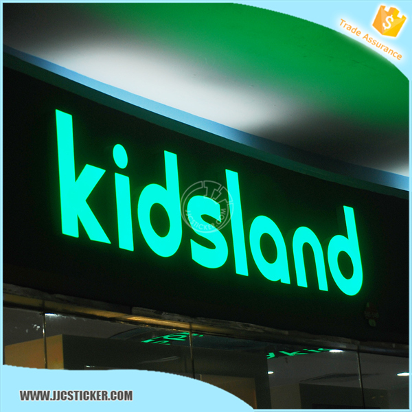 Customized high quality name board led lighting