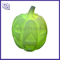 2014 Chinese Handmade Halloween Green Pumpkin Shape Crazy Led Lights For Party Decoration