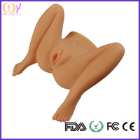 Factory price body doll half body silicone sex doll