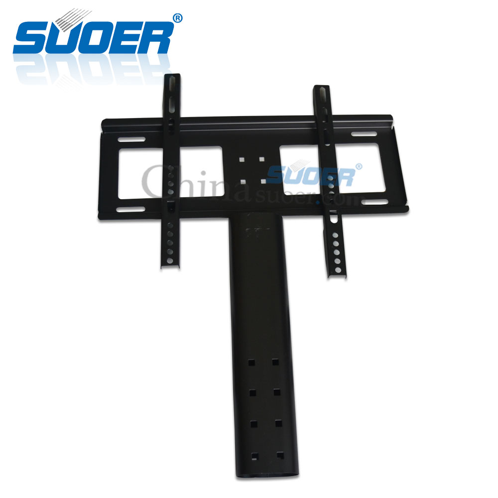 "Suoer TV Wall Mount 26"" to 32"" LCD TV wall mount bracket with glass desktop"