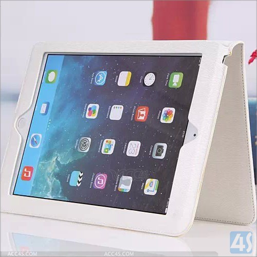 New product for ipad case, smart leather cover for ipad 2/3/4/air/mini case --- P-APPIPD5PUCA032