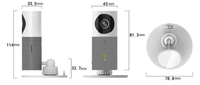 3MP WIFI Camera -- Varifocal 30-40m Built-in Mic Dome surveillance IP Camera