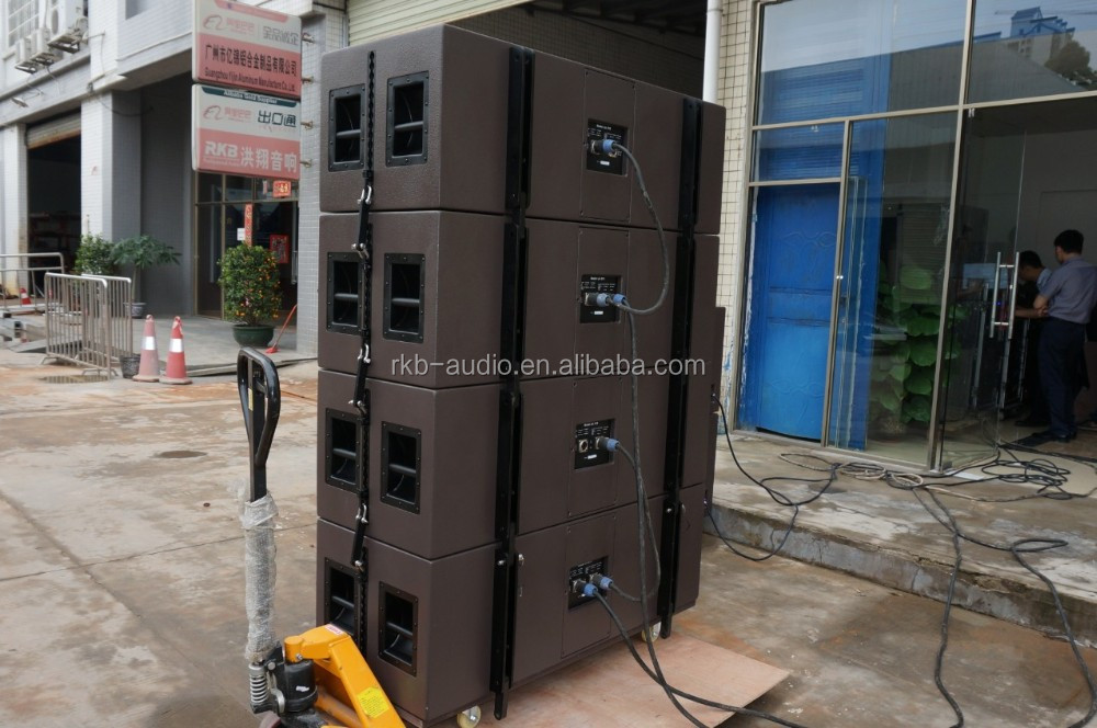 LA-215 Large outdoor line array system/3-way Passive line array/Touring line array speaker