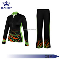 Solid All-Star Athletics Cheer Sublimated Warmup Jacket