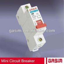 2014 BEST HOT GSB6-63,GSB8-63,GSB7-63 series MCB,mini circuit breaker