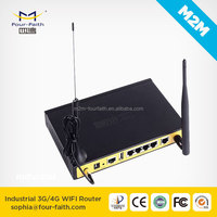 F3434 3g 4g Router for bus wireless 3g car wifi router with sim card slot ethernet port DIN rail support VPN OpenVPN