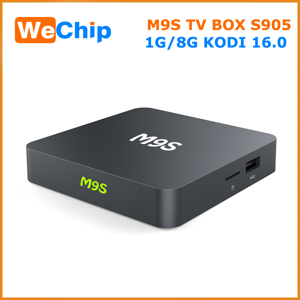 2016 New Tv Box M9s Quad Core Android Tv Box 2g/8g 4k H.265 Usb2.0 -in Wifi Kodi Google Play Iptv