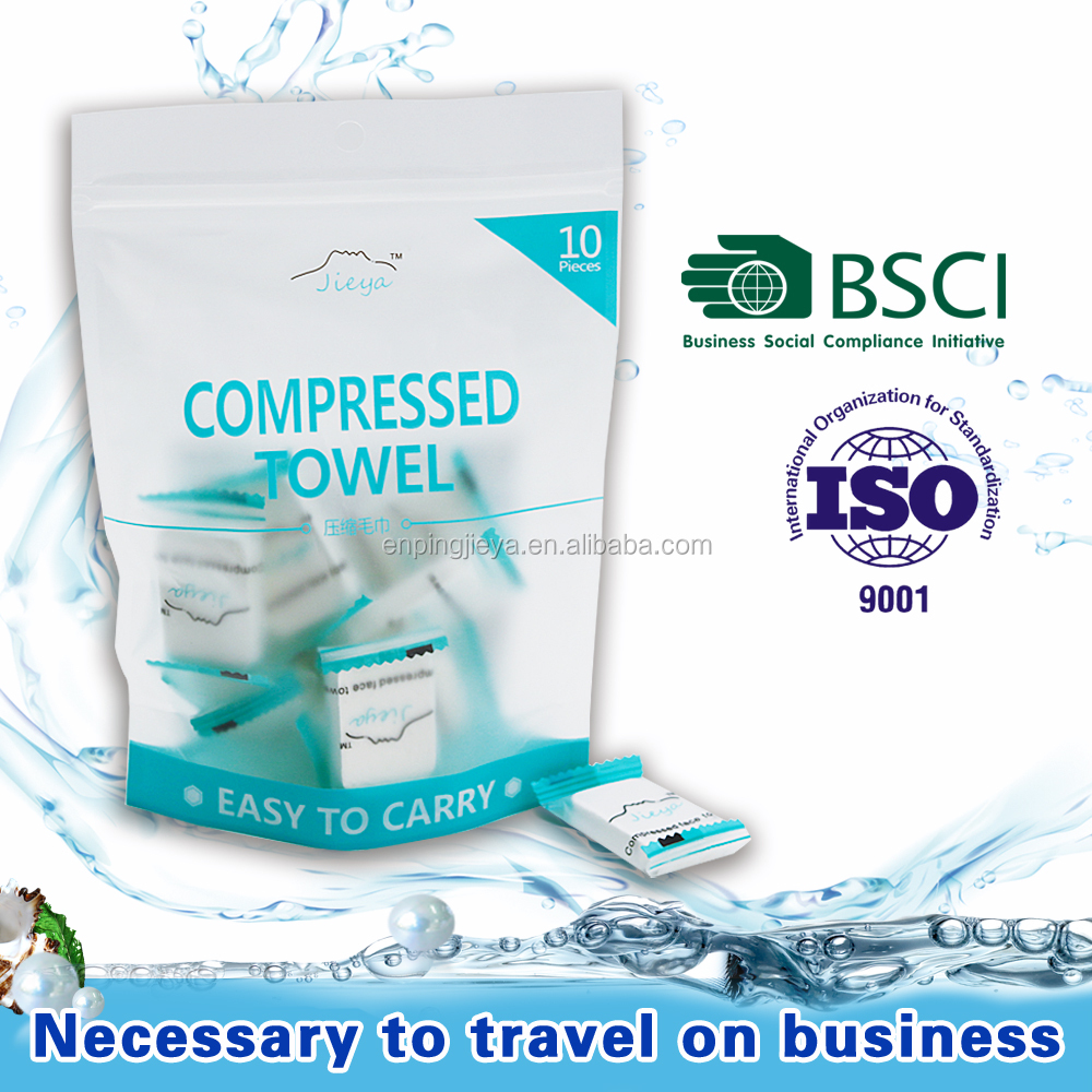 Small No Chemical Composition Tablet Compressed Towel,hot selling