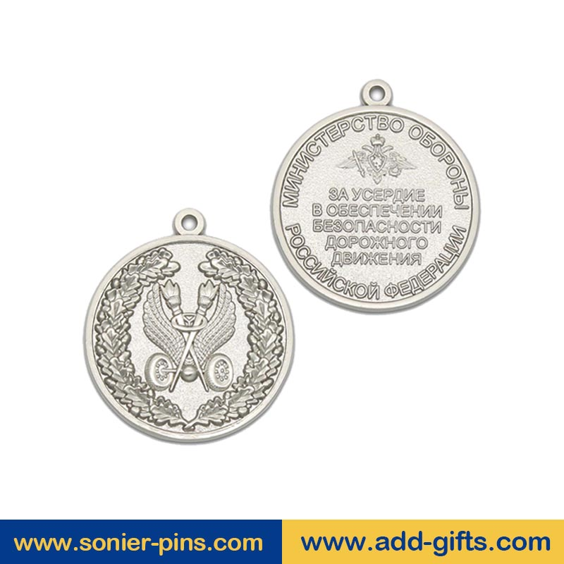 China Customized medals and trophies running sports medal brass medallions