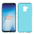 clear Transparent soft mobile phone case for Samsung A5 2018 A530 tpu back cover