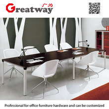 strong stability workstation steel table legs for office meeting conference table