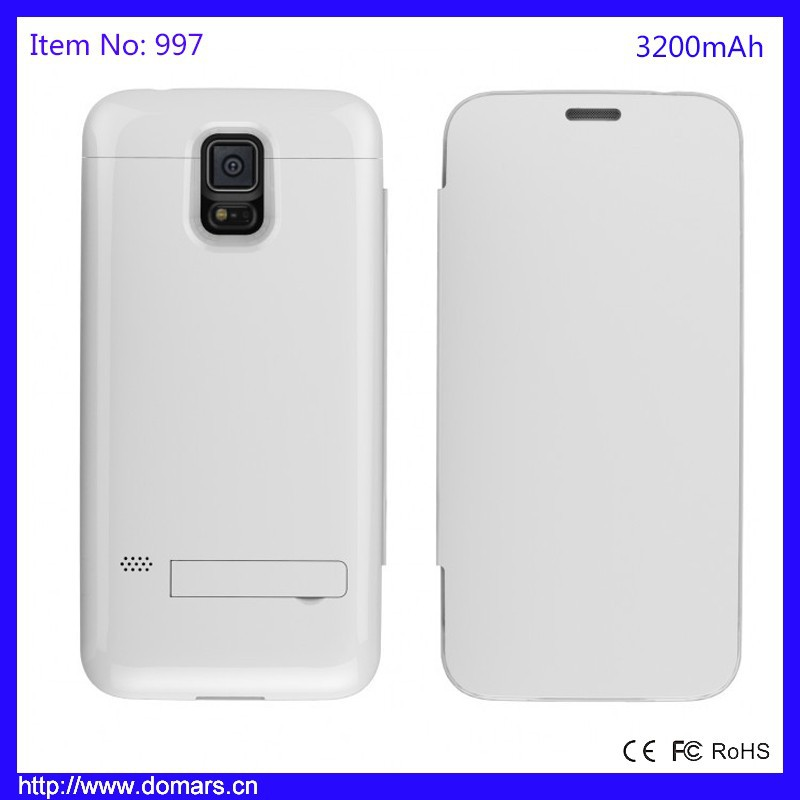 Hot Sale Samsung Galaxy S5 Battery Case Charger 3200mAh Power Case