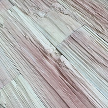 Interior exterior 3d wall decorative cladding artificial wood grain effect panel timber look tile