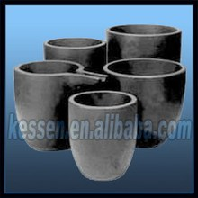 Silicon graphite crucibles, Chinese graphite crucible, high density & purity