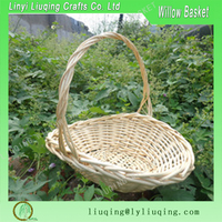 Big Wicker Basket For Carrying Vegetables