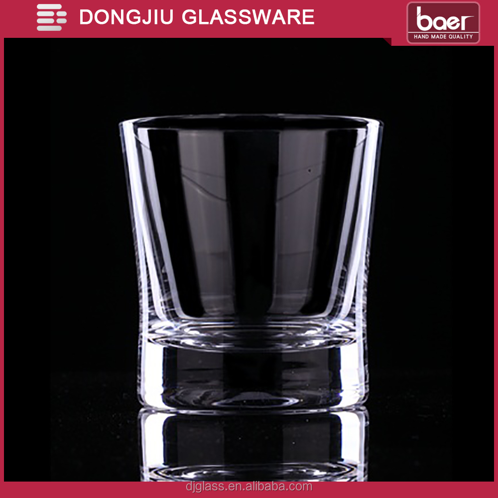 Qixian Dongjiu Hand made mouth blown clear Lead-free Crystal Glass Whisky Cup