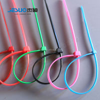 Hot selling self-locking plastic strap 100% Nylon material cable ties alibaba china
