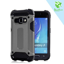 PC TPU Shockproof Phone Rugged Hybrid Back Cover Slim Armor Case For Galaxy J1 Ace / j2 / j3 / j5/ j7