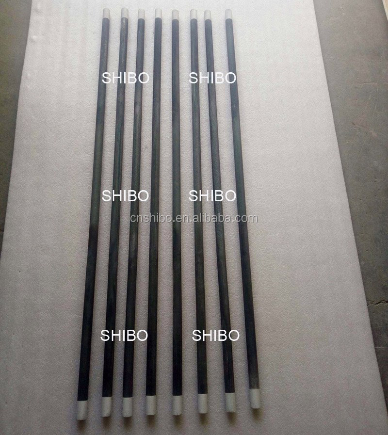 straight shape SiC heating rods for Kiln and furnace