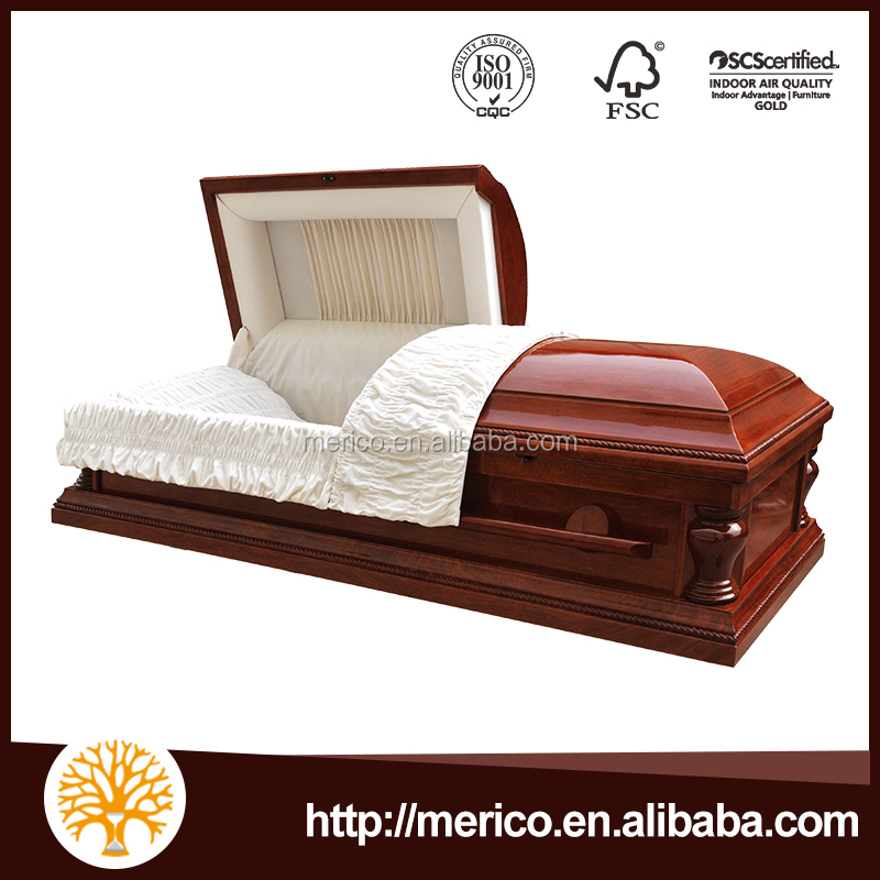Peace Cardboard Cremation Paper Casket Eco-friendly Coffin