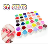 $68/each New Pure Color UV Gel Nail Art DIY Decoration For Nail Manicure Gel Nail Polish Extension Manicure Decor Kit Pick 1 in