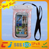 factory promotional pvc rubber waterproof phone bag for galaxy s3 i9300 with ABS+IPX8 certificate