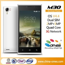 Very High Quality OMES Mobile M30 4.5 inch 1G+4G mtk 6582 quad core blueberry mobile phone