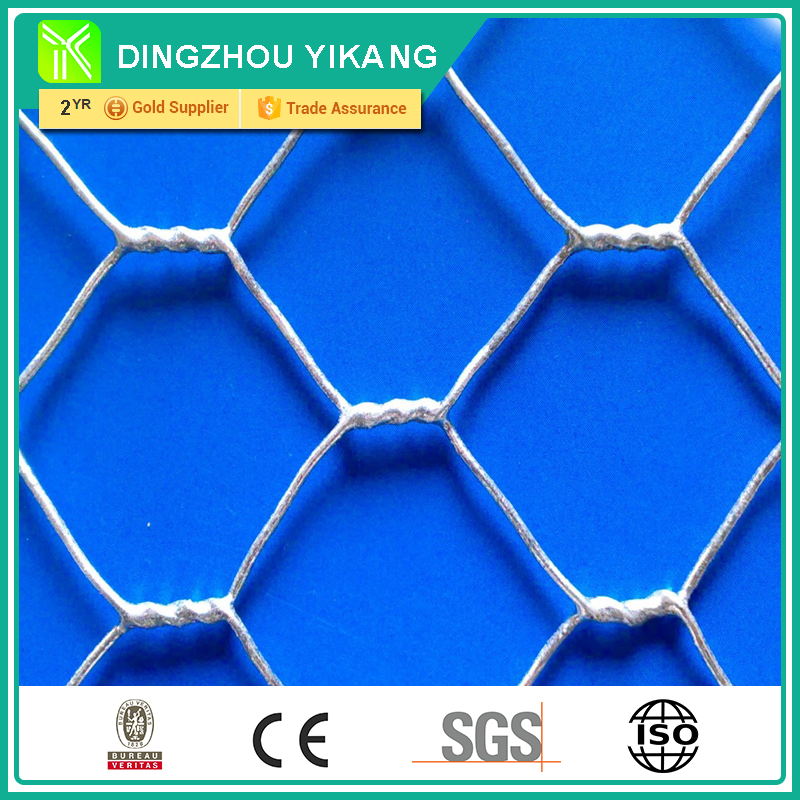 50mm Galvanized Hexagonal Wire Mesh For Feeding Chicken, Ducks ( Supplier )