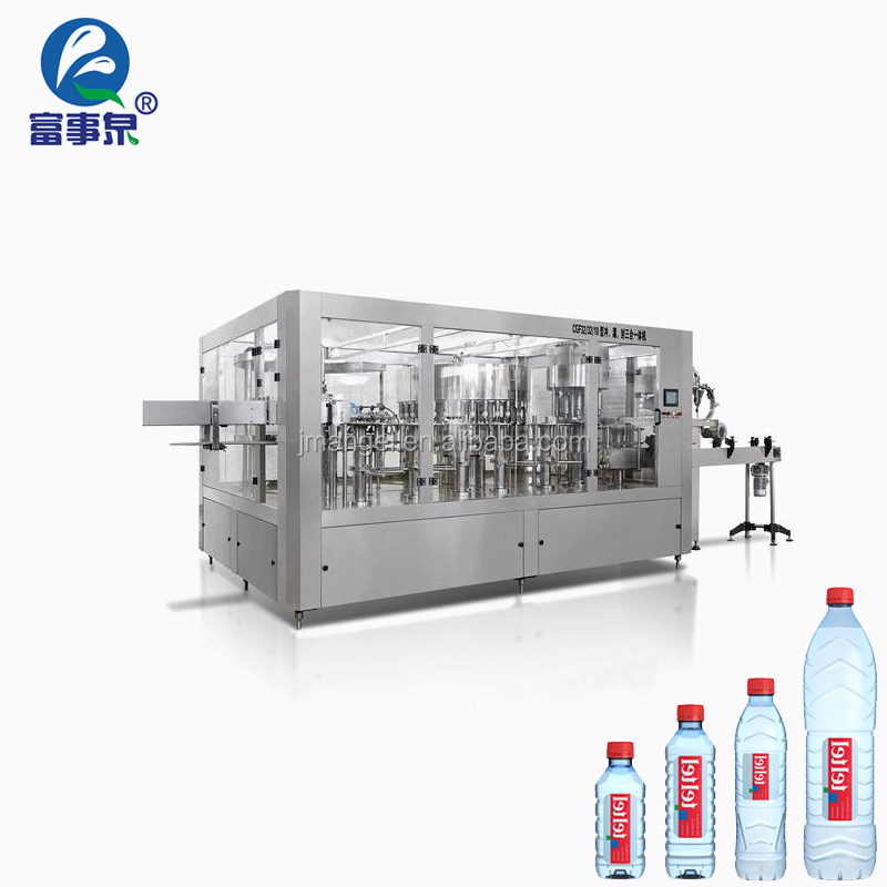 TUV Certified automatic new design potable sparking water filling equipment