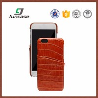 Hot sale custom cell phone case genuine leather phone case for iphone 7